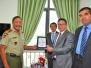 GLOBAL KOMITED - DEFENSE FORCES of TIMOR LESTE SIGNING CEREMONY
